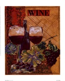World Of Wine I Prints by Susan Osborne