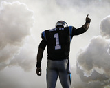 Cam Newton Photo by Chuck Burton