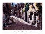 Morning Walk-Dinard Prints by Sung Sam Park