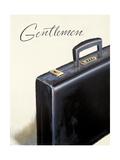 Gentlemen's Attire Print by Marco Fabiano
