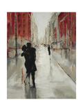City Romance Premium Giclee Print by Laurel Lehman