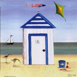 Beach House I Prints by Katharine Gracey