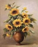 Sunflowers In Bronze I Posters av Welby