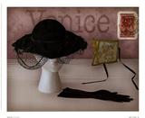 Venice Hat Prints by Judy Mandolf
