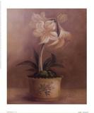 Olivia's Flowers IV Print by Cheovan