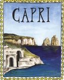 Capri Prints by Katharine Gracey