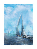 Sailing Sea 2 Poster by Ken Roko