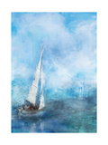 Sailing Sea 1 Prints by Ken Roko