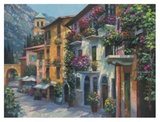 Village Hideaway Poster by Howard Behrens