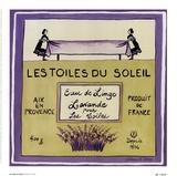 Les Toiles Du Soleil Print by Katharine Gracey