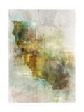 Earth Tones California Print by Ken Roko