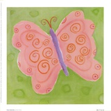 Peace Butterfly Poster by Dona Turner