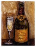 French Champagne Posters af Nicole Etienne