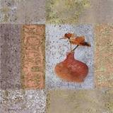 Fleur Orange II Posters by Pierre Fortin