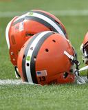 Cleveland Browns Helmets Photo av David Richard