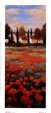 Tejados Rojos II Print by Kanayo Ede
