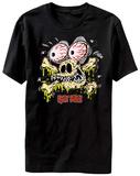 Rat Fink- Creature Feature Jolly Rodger T-Shirt