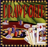 Draw Poker Prints by Geoff Allen