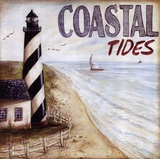 Coastal Tides Print by Kate McRostie