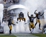 Pittsburgh Steelers Take the Field Photo by Gene Puskar