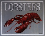 Lobster Prints by Catherine Jones
