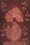 Fleurs Rouge I Prints by Jennifer Carson