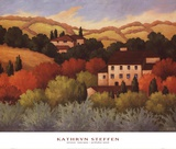 Strove, Tuscany Prints by Kathryn Steffen