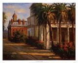 Casa De Palmera Prints by Enrique Bolo