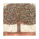 Copper Shimmer Tree Posters by Norman Wyatt Jr.