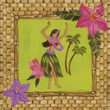 Tiki Girl I Prints by Jennifer Brinley