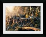 Lord Of The Rings- Leaving Rivendell Wydruk kolekcjonerski