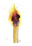 Lora Zombie - Love Burns 1 Plakát