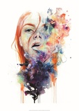 This Thing Called Art is really Dangerous Print by Agnes Cecile