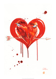 Love Birds Poster by Lora Zombie