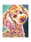Poodle - Curly Posters par  Dawgart