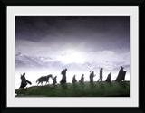 Lord Of The Rings- March Of The Fellowship Wydruk kolekcjonerski
