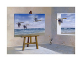 Goose Prints by Harro Maass