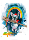 Frenchie Posters af Lora Zombie