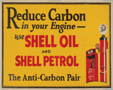 Shell Oil Tin Sign