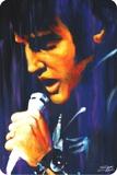 Elvis Sings Plechová cedule