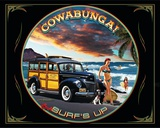 Cowabunga Tin Sign
