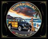 Cowabunga Tin Sign