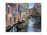 Venezia in Rosa Prints by Guido Borelli