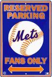 Mets Parking Plaque en métal