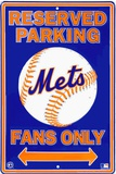 Mets Parking Tin Sign