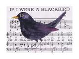 If I Were a Blackbird Posters par Jane Wilson