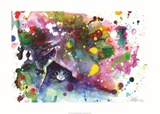 Lora Zombie - Mňau Umělecké plakáty
