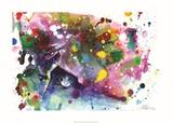 Miau Poster por Lora Zombie