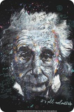 Einstein - All Relative Tin Sign
