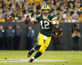 Aaron Rodgers Photo by Mike Roemer